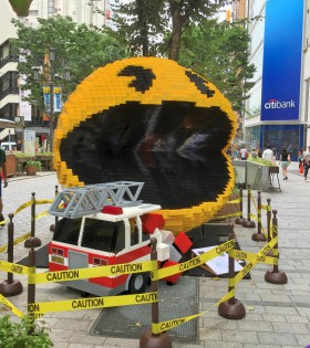 ピクセル パックマン 新宿クリエイターズフェスタ2015