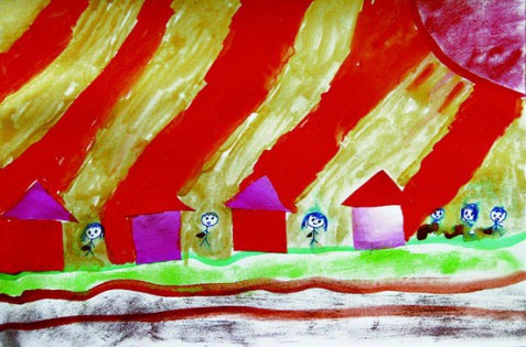 3.11ふくしまそうまの子どもの描くたいせつな絵①