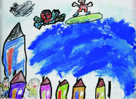 3.11ふくしまそうまの子どもの描くたいせつな絵②